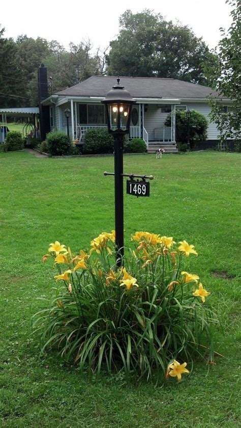 Address Plaques With Light - address plaque gas l post curb appeal