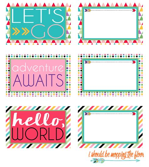 tags printable free printable luggage tags free printable third and free