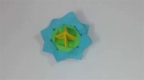 How To Make Spinning Tops Out Of Paper - origami how to make a spinning top