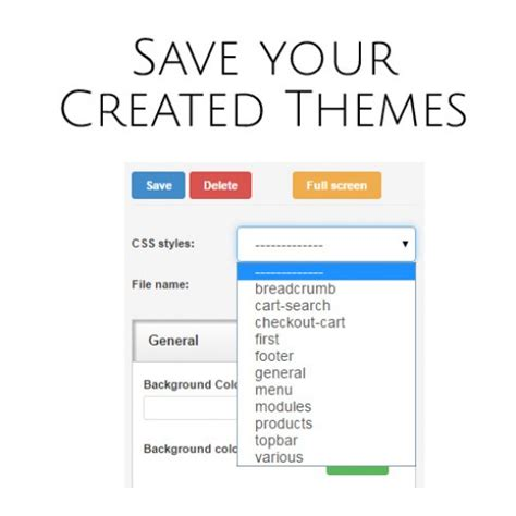 live theme editor opencart opencart live theme editor by viethemes