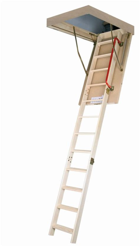 fakro attic ladder wooden insulated lwp 30x54 300 lbs 10