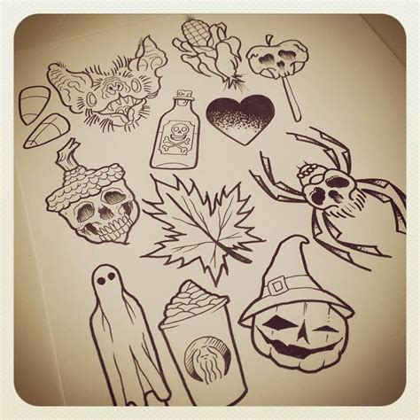 tattoo flash drawings image result for halloween themed tattoo flash tattoos