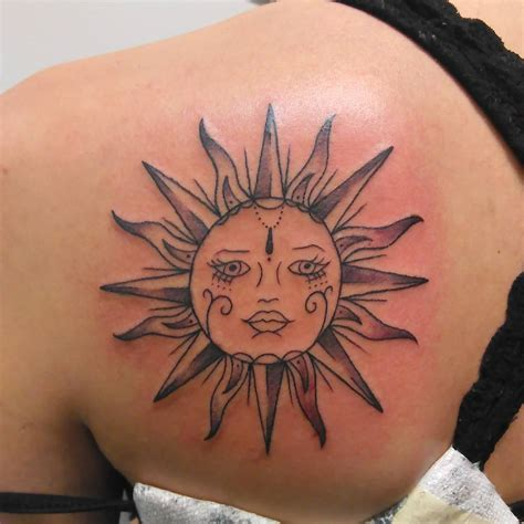 tattoo of the sun 95 best sun designs meanings symbol of the