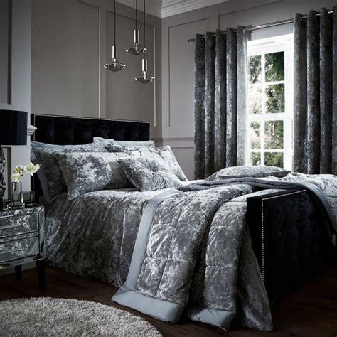crushed velvet comforter crushed velvet bedspread silver grey tonys textiles