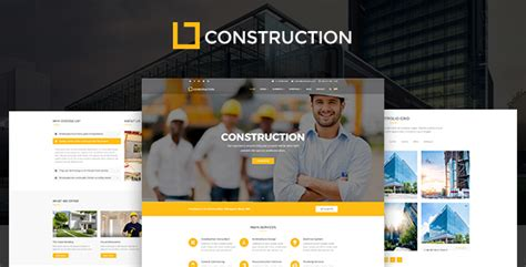 Construction Construction Company Building Company Template By Blogwp Construction Portfolio Template
