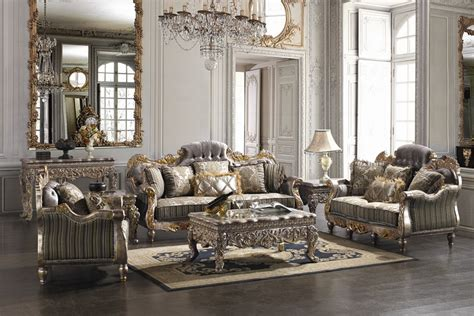 covina high end formal living room set furniture