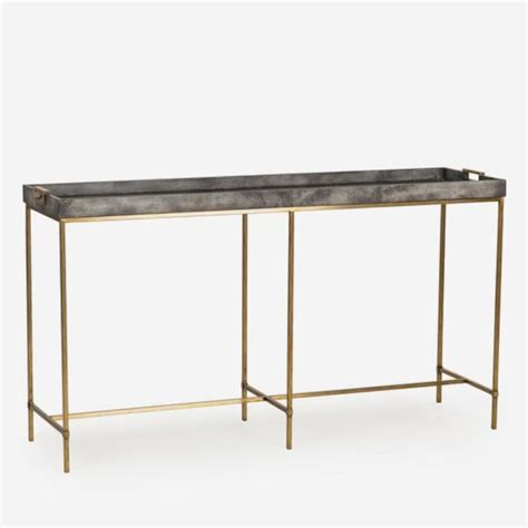 and martin console table minimalist console tables by andrew martin