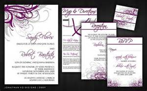 purple and gray wedding invitations purple and silver gray wedding invitations