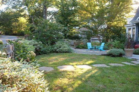 Backyard Ideas Less Grass Less Lawn More Garden