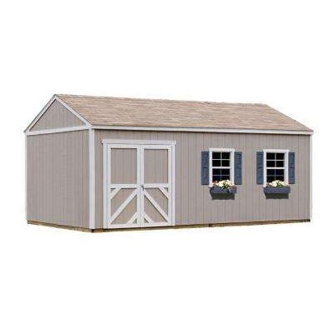 Val U Shed by Sheds Sheds Garages Outdoor Storage The Home Depot