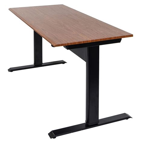 48 inch tall desk niagara 48 in modern adjustable height desk eurway