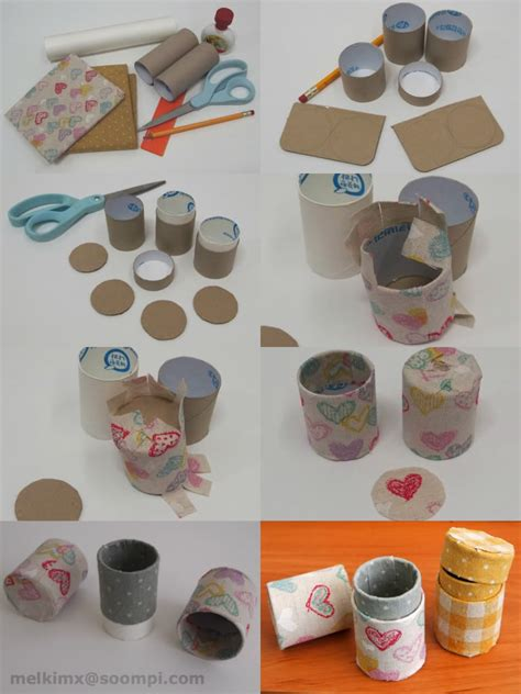 How To Make Paper Rolls - creazioni con tubi di carta igienica on toilet