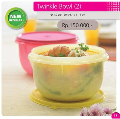 Tupperware Paket Modular Bowl 3 twinkle bowl 2 tupperware indonesia promo november 2016