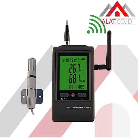 Alat Wifi Media alat ukur suhu kelembaban wifi dan humidity data logger r90w serial