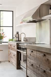 Rustic Cabinets Kitchen Popular Again Wood Kitchen Cabinets Centsational