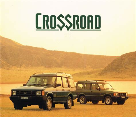 honda crossroad the honda crossroad was a japanese land rover kinda