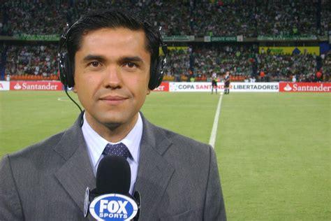 el periodista deportivo edicin juan pablo coronado corresponsal colombia fox sports reportero win sports productor