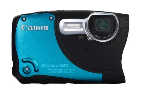canon rugged canon powershot d20 rugged outdoor unveiled ubergizmo