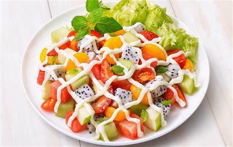 cara membuat salad buah menggunakan yogurt cara membuat salad buah yang enak di rumah sipendik