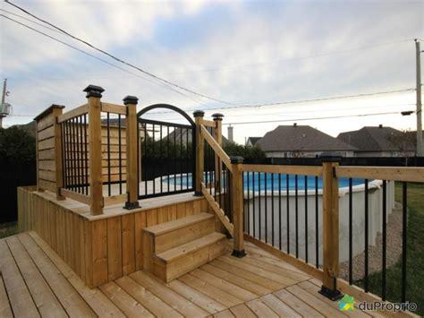 patio sol construire patio piscine hors terre recherche