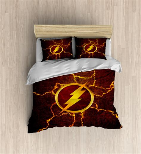 How To Buy Soft Sheets by The Flash Bedding Superhero Duvet Cover The Flash By