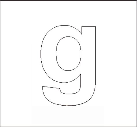 lowercase letter g coloring page related keywords suggestions for lowercase g template
