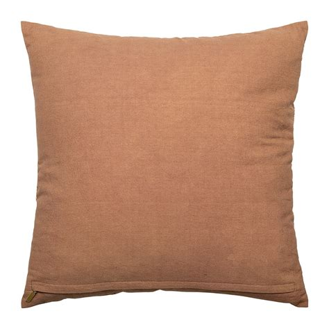 brown patterned cushions buy bloomingville shell patterned cotton cushion brown