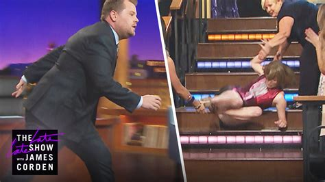 katie couric itunes james corden gets pranked on the late late show heart