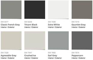 sherwin williams grey paint colors popular interior house painting colors tri valley bay