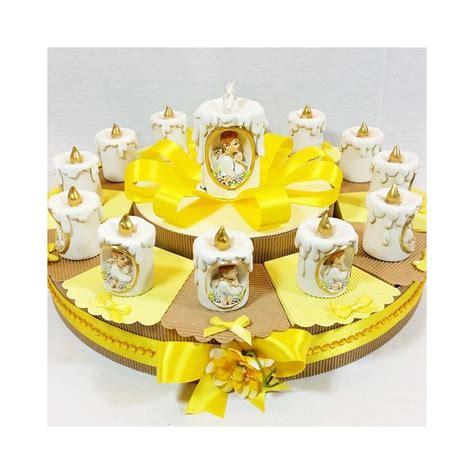 torta con candele torta bomboniera con candele con immagine prima comunione