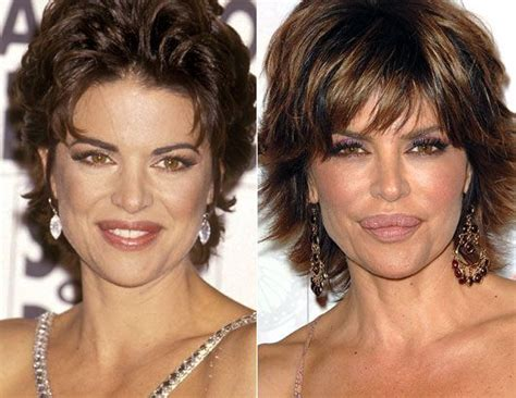what celebs were mean to lisa rinna on celeb apprentice lisa rinna before and after her lip surgery she recently
