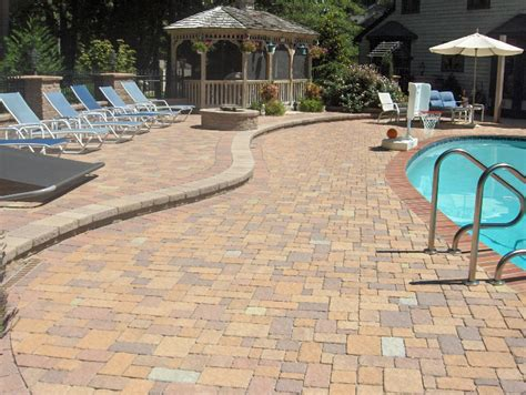 pool pavers remodel your pool deck with pavers from modern style pool patio pavers and pavers pool deck techo