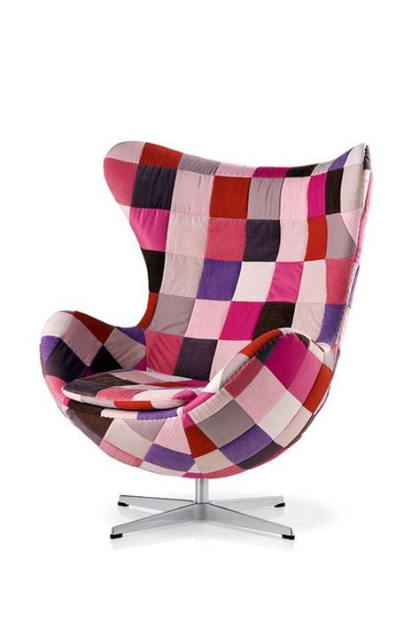 Patchwork Egg Chair - the egg chair by arne jacobsen patchwork edition things