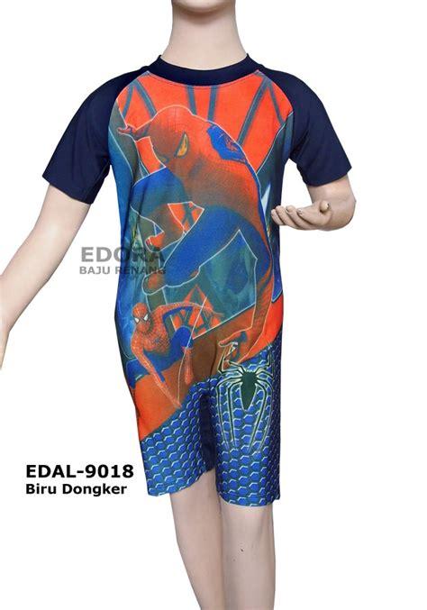 Anak Laki Laki Boy Celana Soft Gambar Bendera baju renang diving karakter edal 9018 biru dongker distributor dan toko jual baju renang