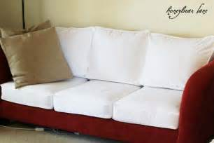 Diy Slipcover Couch How To Make A Cushion Cover And Other Slipcover Tutorials
