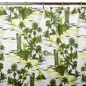 shower curtains hawaiian home design