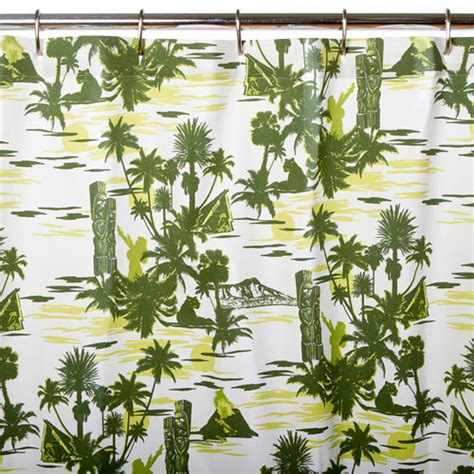 hawaiian shower curtain shower curtains hawaiian good home design