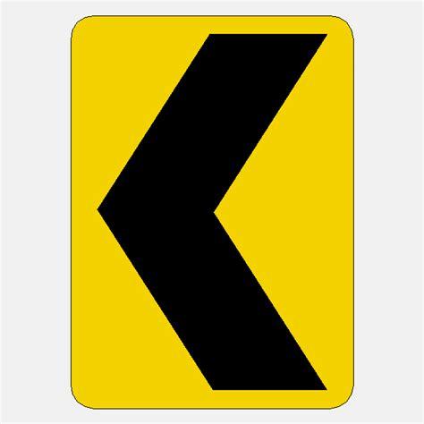 Scotchlite Arrow Safety Warning Reflective Marking chevron alignment symbol w1 8 24 quot x18 quot reflective yellow black aluminum traffic sign