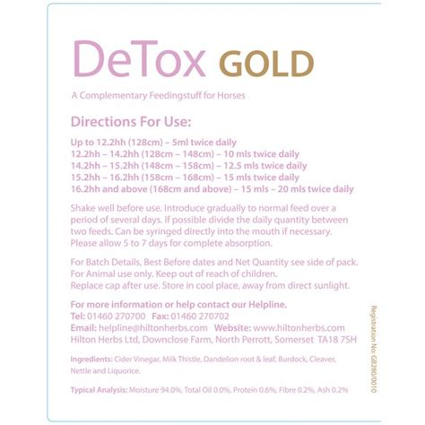 Ultimate Gold Detox 20 Oz Reviews by Detox Gold Herbs