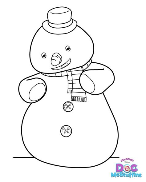 free coloring pages of dr mc stuffin