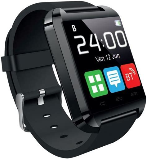 Smartwatch U8 Original 2 Color Black fitmate u8 smart price review and buy in dubai abu dhabi and rest of united arab
