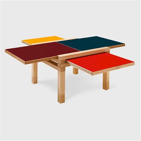 table top color the par 4 coffee table design trend