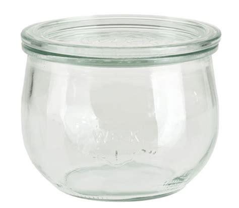 vasi di vetro con coperchio weck 174 vasetto di vetro con coperchio 87x110mm opitec