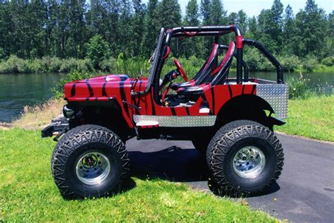 custom willys jeep 1945 willys jeep cj2a custom 4x4 178501