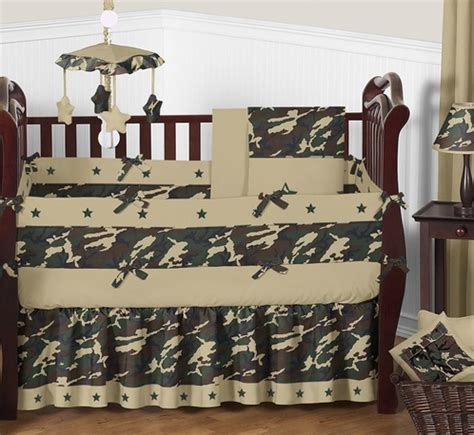 Camouflage Baby Crib Bedding Set by Green Camo Baby Bedding 9pc Crib Set Only 189 99