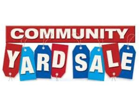 College Garage Sale by Community Yard Sale Reserve Your Space Today
