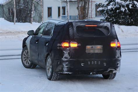 Kia Winter Spyshots 2016 Kia Sorento Winter Testing Autoevolution