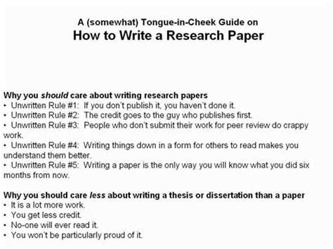 How To Make A Title For A Research Paper - how to write ascientificresearch paper