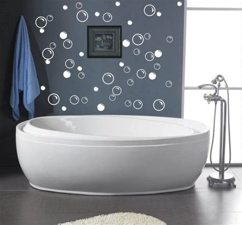 bathroom vinyl wall art 50 large soap bubbles decals bathroom wall decals vinyl