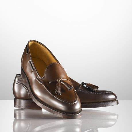 ralph marlow loafer ralph marlow tassel loafer in brown for lyst